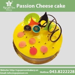 Passion Cheese cake