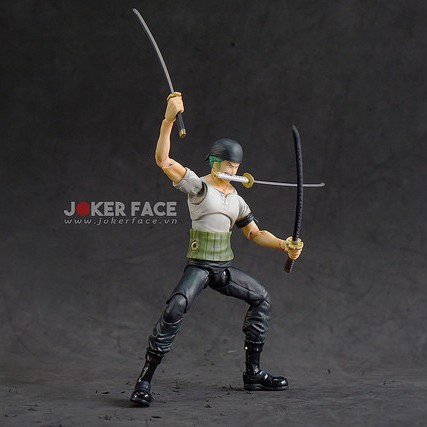 Mô hình Roronoa Zoro - Variable Action Heroes - Past Blue - One Piece