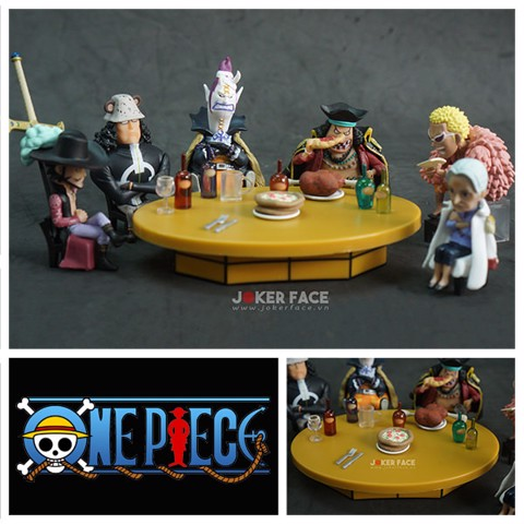Set mô hình One Piece WCF World Collectable Figure Party