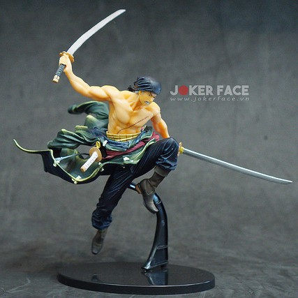 Mô hình Roronoa Zoro - Figure Colosseum - SCultures - Zoukeiou Choujoukessen World Vol.1 - One Piece