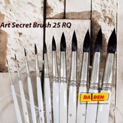 Cọ Vẽ Squirrel Art Secret 25RQ