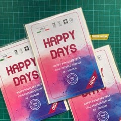 Postcard 300gsm Happy A6