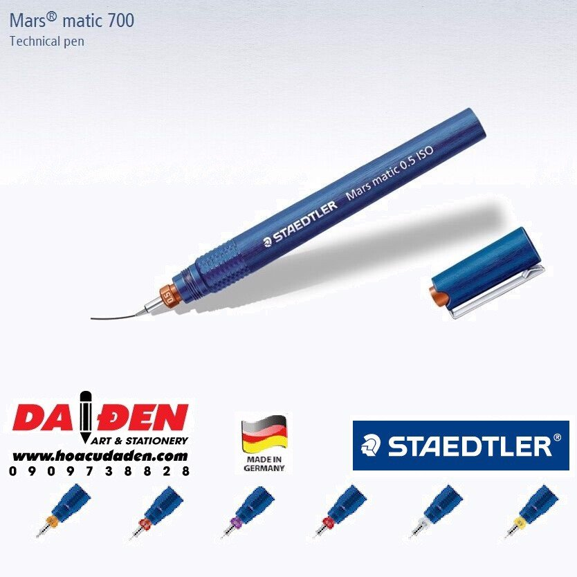 Bút can kỹ thuật STAEDTLER MARS® MATIC 700 (Chọn size)