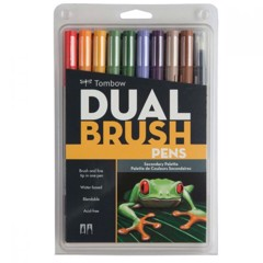 ABT Dual Brush Pen Set 10 Secondary