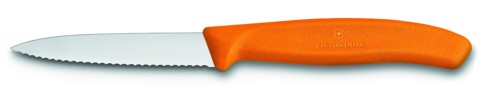 Victorinox Paring Knives (navy edge) orange