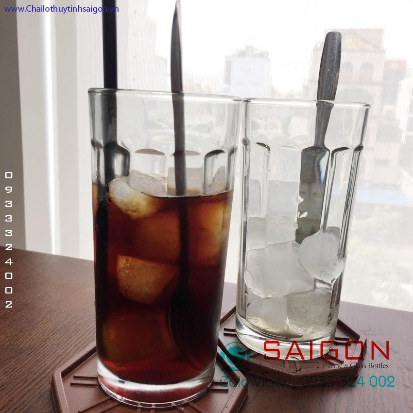 Ly Ống Cafe Sọc 325ml