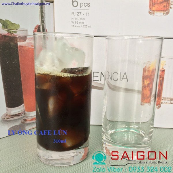 Ly Ống Cafe lỡ 310ml