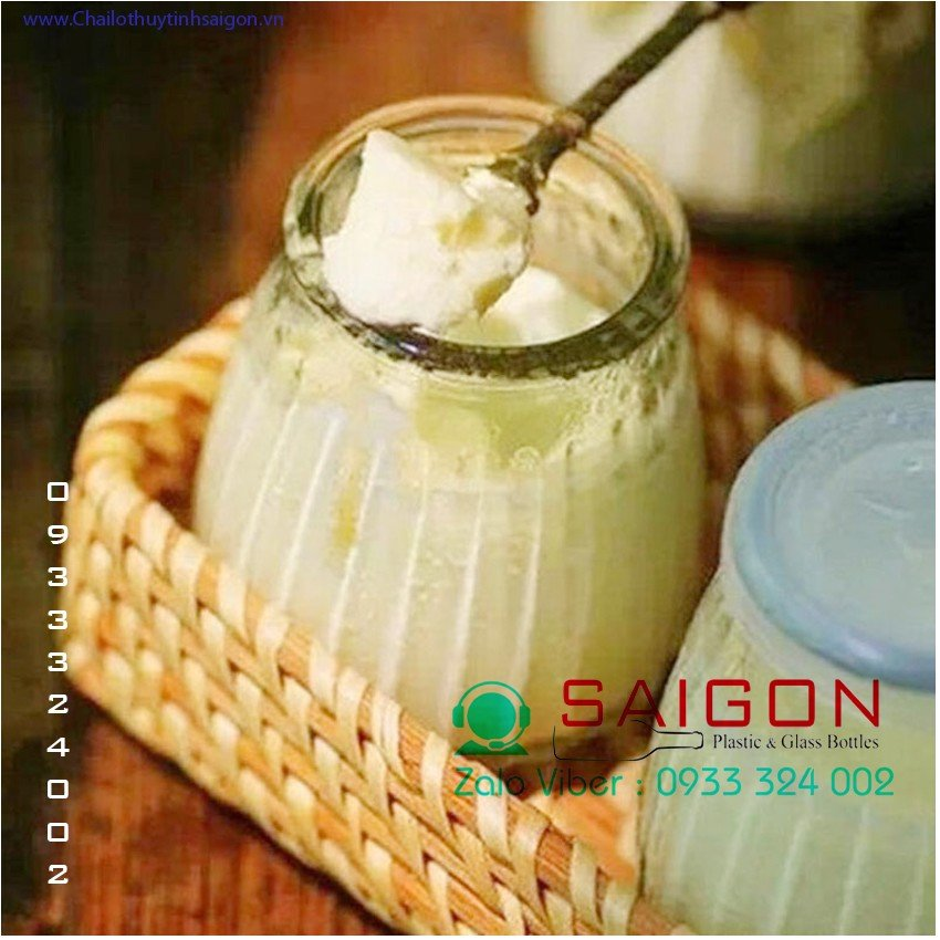 Hũ Pudding sọc 100ml