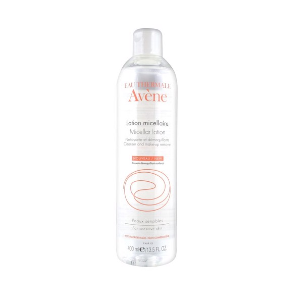 Avene Micellar Lotion Cleanser and Make Up Remover 400ml