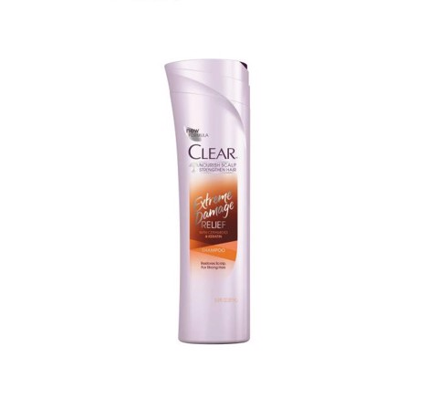 Dầu gội Dầu xả Clear ‪‎Extreme Damage Relief 381ml