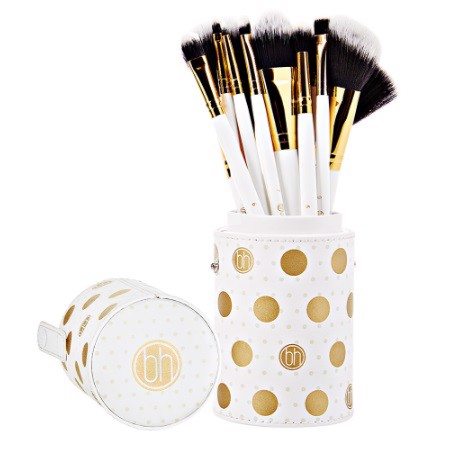 BH Dot Collection Brush Set White