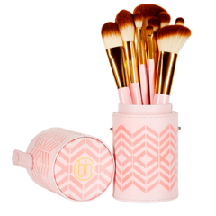BH Cosmetics Pink Perfection Brush Set