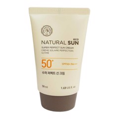 The Face Shop Natural Sun Super Perfect Sun Cream Spf 50