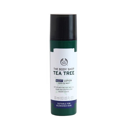 Sữa dưỡng da ban đêm The Body Shop Tea Tree Blemish Fade Night Lotion