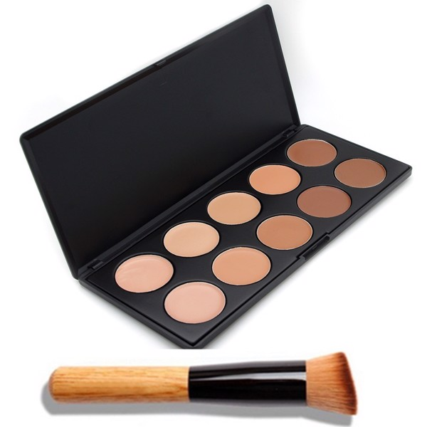 Hộp Che Khuyết điểm Camouflage Palette 10 Shades