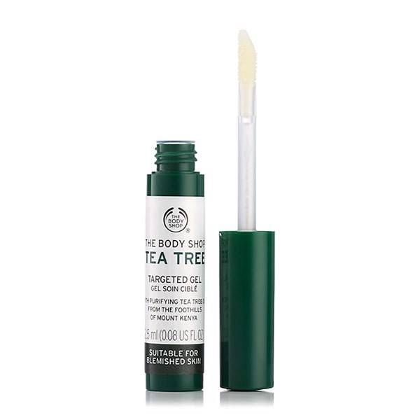 Gel trị thâm The Body Shop Tea Tree Targeted Gel 2.5ml