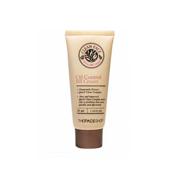 The Face Shop Clean Face Oil Control BB Cream 35ml