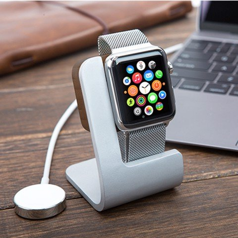Dock sạc JCPAL gỗ cho Apple Watch