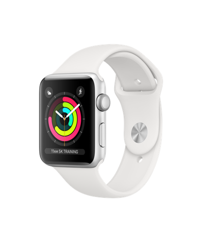 Apple Watch Series 3 GPS 42mm Silver Xách Tay Mỹ MTF02