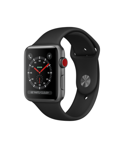Apple Watch Series 3 42mm Gray Xách Tay Mỹ MQK22 (E-sim) - Apple Care 2020