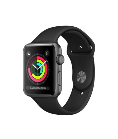 Apple Watch Series 3 GPS 42mm Gray Xách Tay Mỹ MTF32