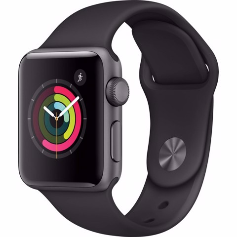 Apple Watch Series 3 38mm Xách Tay Mỹ MQKV2- Space Gray Sport Band Active online