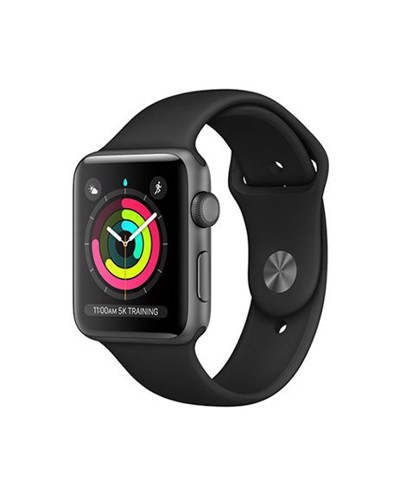 Apple Watch Series 3 GPS 38mm Black Xách Tay Mỹ MTF02