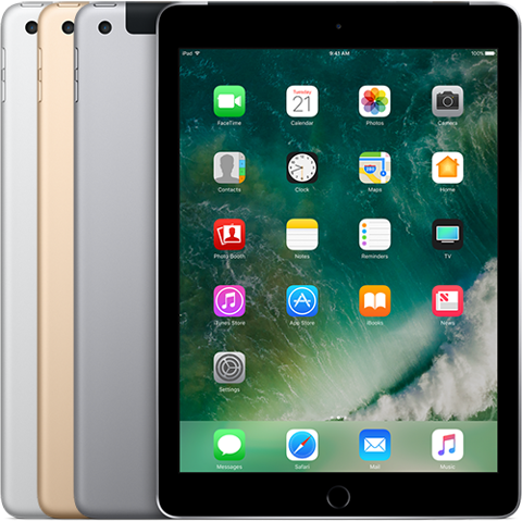 Apple iPad New 2017 9.7 inch 32GB Wifi + 4G - IPAD xách tay  Mỹ