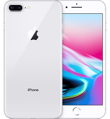 IPhone 8 Plus Lock 64GB Silver (chưa sd) - Iphone Lock xách tay Mỹ