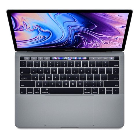 MacBook Pro 13'inch 2.4gHz 256gb 2019 Gray MV972 Xách Tay Mỹ (touch bar)