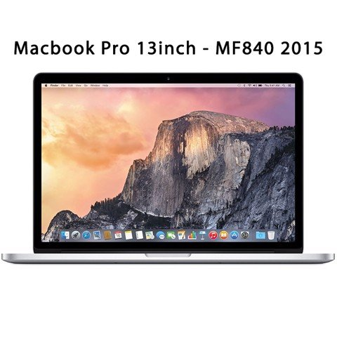 Macbook Pro 13 inch Mf840 2015 ram 8gb ssd 256-Bh 06/2019 99%