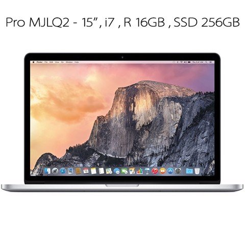 Macbook Pro 15 inch CPU i7 Ram 16GB SSD 256GB (MJLQ2) 99%