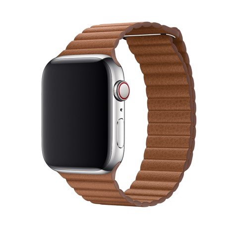 Dây Da Nâu Apple Watch Chính Hãng 42/44mm Saddle Brown