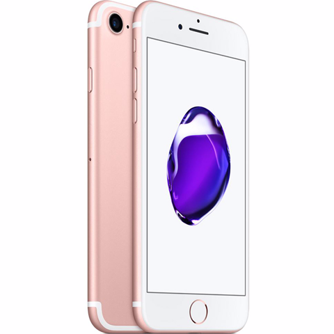 IPhone 7 Lock 128GB Rose New( chưa qua sd) - Iphone Lock xách tay Mỹ