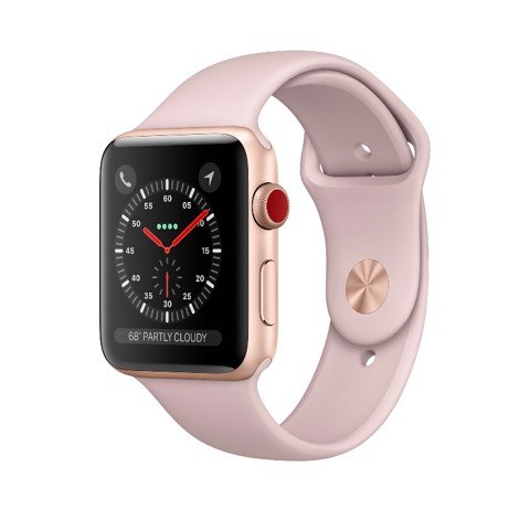 Apple Watch Series 3  38mm 4G Xách Tay Mỹ MQJQ2 (E-sim)