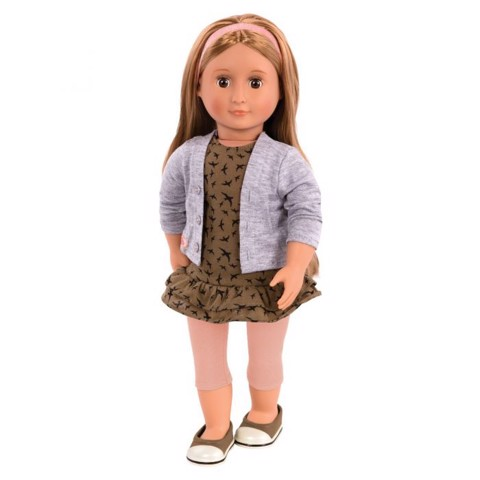 Arianna Doll With Dress, Cardigan & Leggings