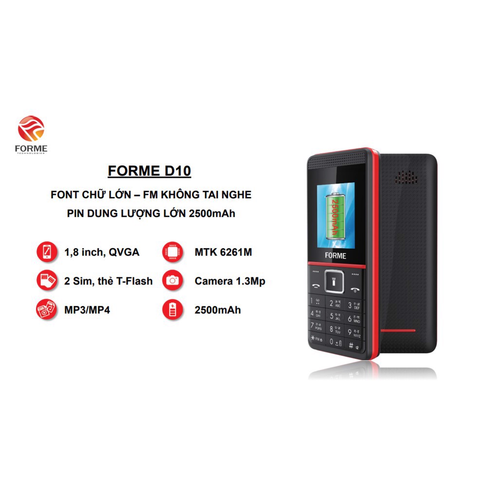 Forme D10 New