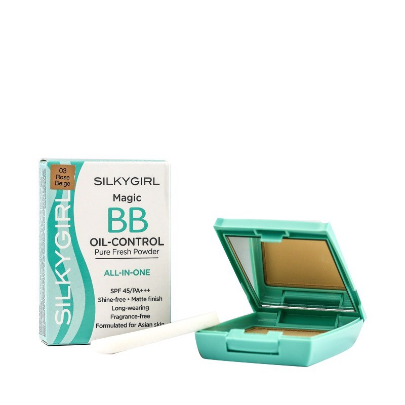 Phấn phủ Magic BB Oil-Control Pure Fresh Powder (SPF 45/PA+++)