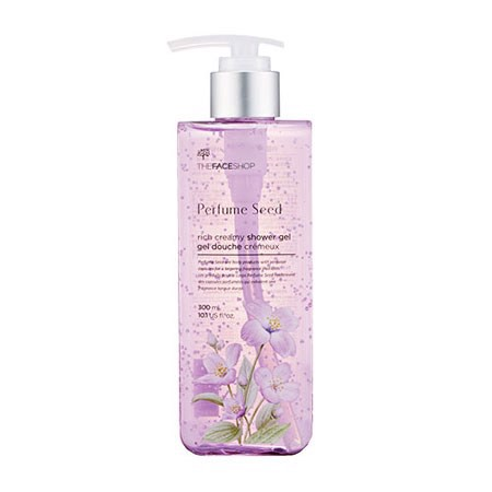 Gel tắm Perfume Seed Rich Body Milk Shower Gel- 300ml (Tím)