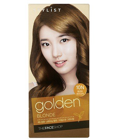 Nhuộm Tóc Dạng Bọt The Face Shop Stylist Silky Hair Color Cream