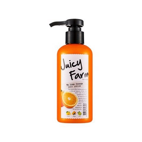 Sữa dưỡng Missha Juicy Farm Body lotion -my lime orange