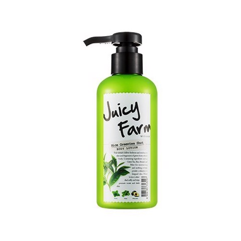 Sữa dưỡng Missha Juicy Farm Body lotion - my greentea shot