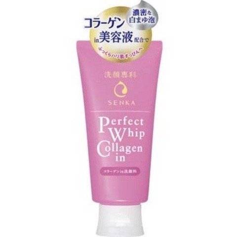 Sữa Rửa Mặt Collagen Senka Perfect Whip Collagen In 120g