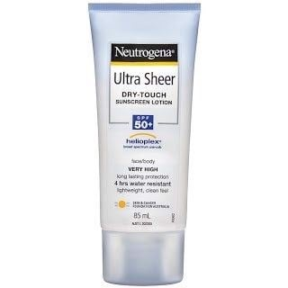 Kem chống nắng Neutrogena Ultra Sheer Body Lotion SPF 50+ 85ml
