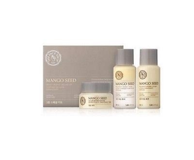 Set dưỡng da mini 3 món The Face Shop Mango seed