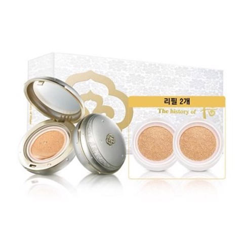 The History of Whoo Whoo Gongjinhyang Seol Whitening and Moisture Glow Cushion Special Set #21