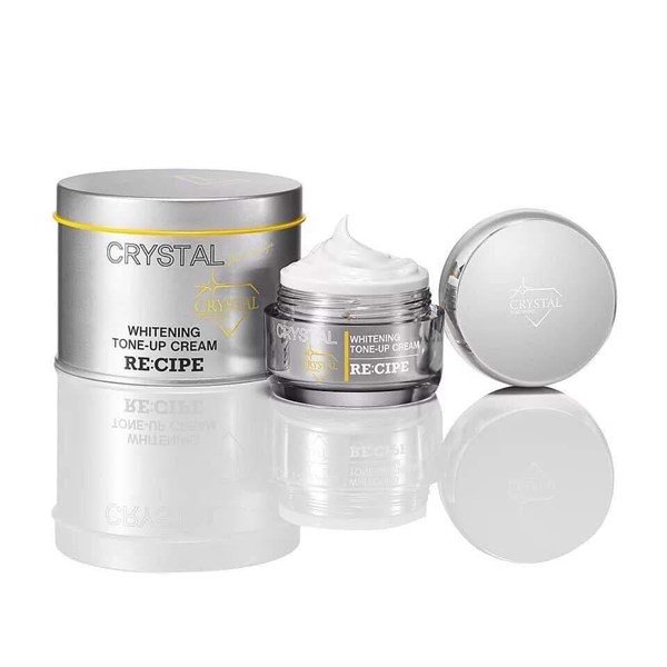 Kem Dưỡng Trắng Recipe Crystal 7-Complex Whitening Tone Up Cream