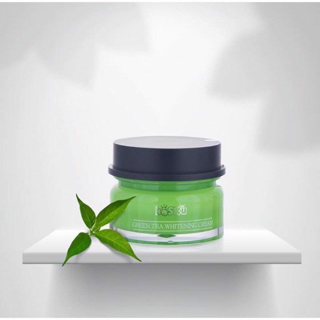 Kem mèo Kosxu Green Tea Whitening Cream