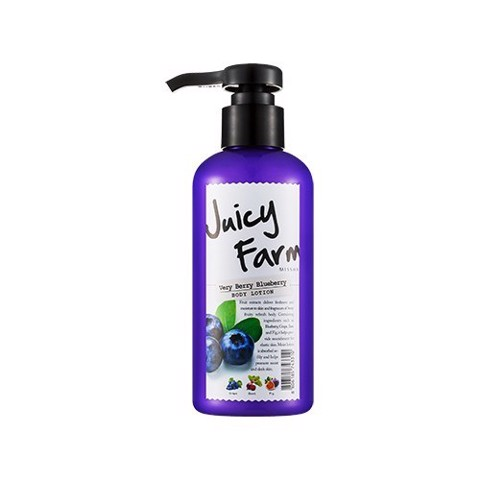 Sữa dưỡng Missha Juicy Farm Body lotion - very berry blueberry