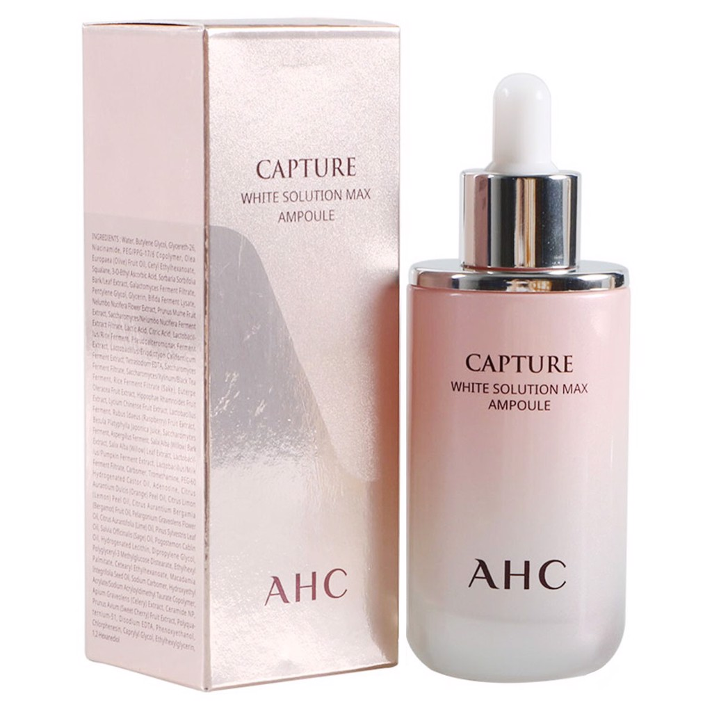 Tinh chất AHC Capture White Solution Max Ampoule 100ml